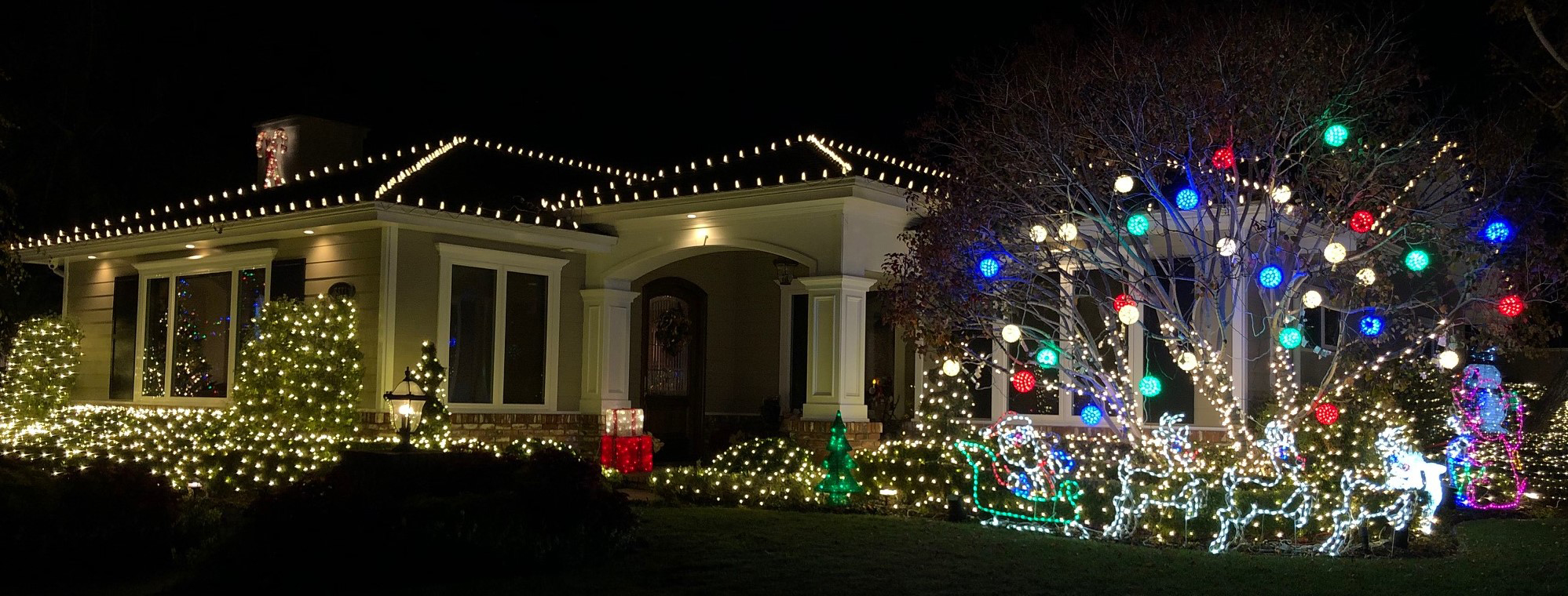 2018 Rossmoor Christmas Lights