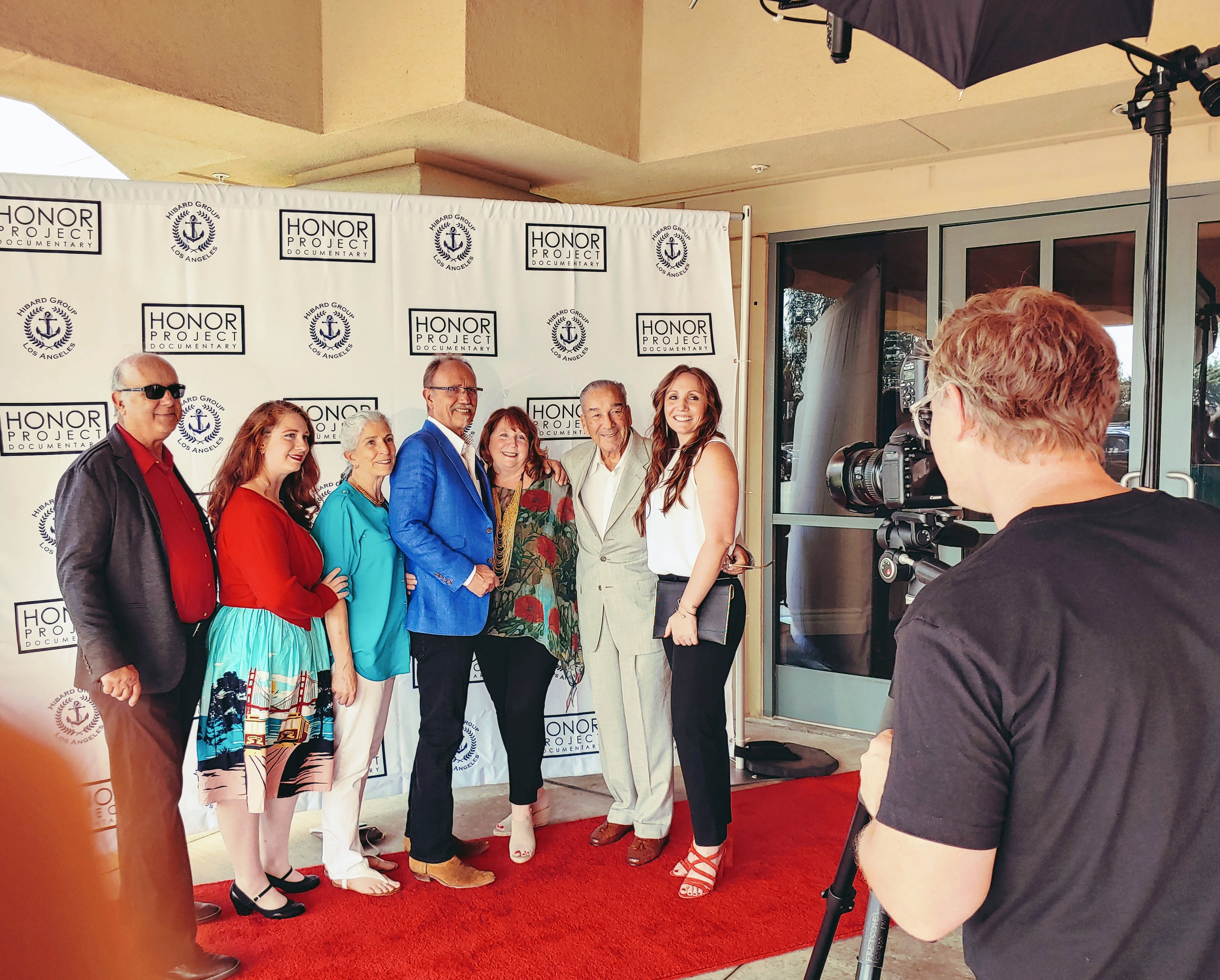 Red carpet treatment for Los Al Family